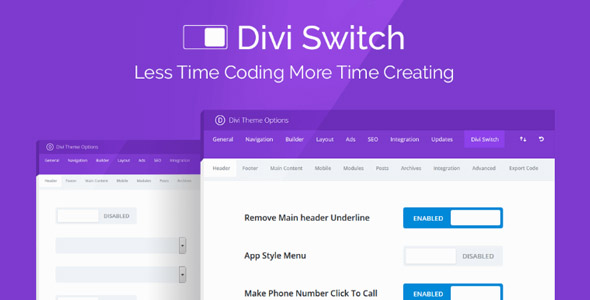 Divi Switch Pro 4.0.2 Nulled - Fully Customize Your Divi Website