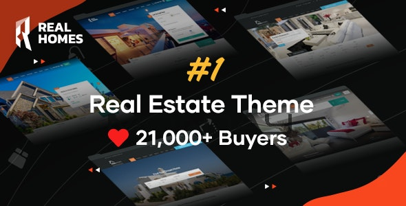 RealHomes 3.12.0 Nulled - Estate Sale and Rental WordPress Theme