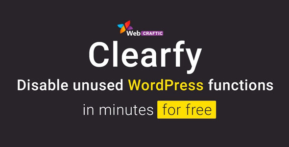 Webcraftic Clearfy Business 1.7.4 Nulled