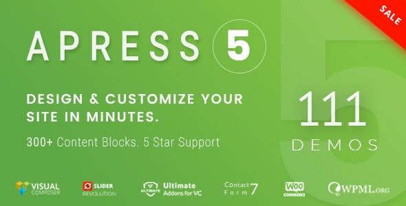 Apress 5.1.2 - Responsive Multi-Purpose Theme