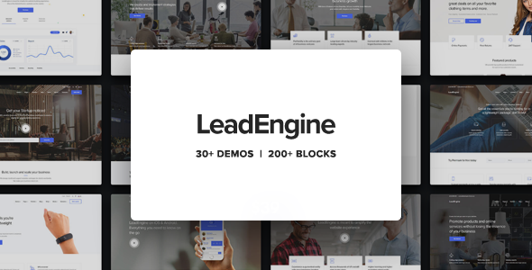 LeadEngine 2.1 Nulled - Multi-Purpose WordPress Theme