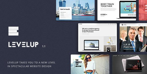 Levelup 1.1.39 - Responsive Creative Multipurpose WordPress Theme