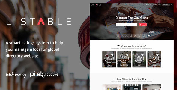 Listable 1.15.0 -  A Friendly Directory WordPress Theme