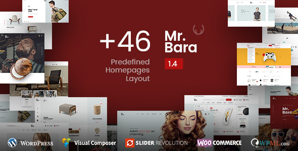 Mr.Bara 1.7.9 - Responsive Multi-Purpose eCommerce WordPress Theme
