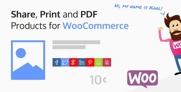 Share, Print and PDF Products for WooCommerce 2.5.6