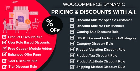 WooCommerce Dynamic Pricing & Discounts with AI 1.6.5 Nulled