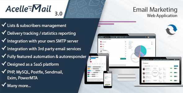 Acelle 4.0.18 (Nulled) - Email Marketing Web Application