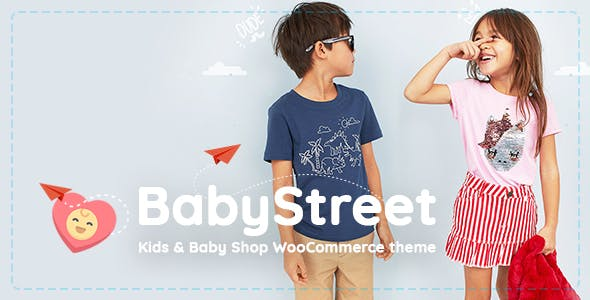 BabyStreet 1.3.7 - WooCommerce Theme for Kids Toys and Baby Shops