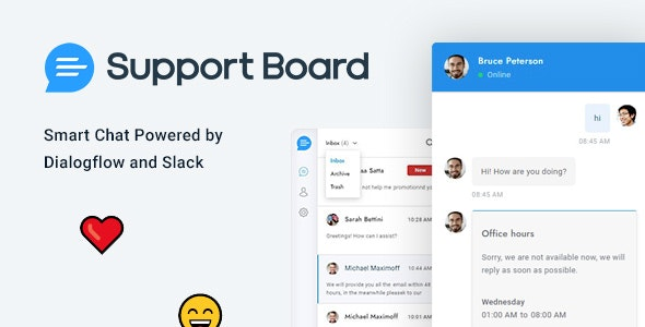 Support Board 3.0.0 - Chat WordPress Plugin - Chat & Support