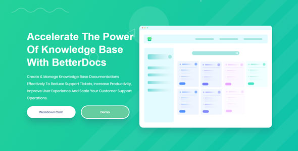 BetterDocs Pro 1.3.10 - Accelerate The Power Of Knowledge Base