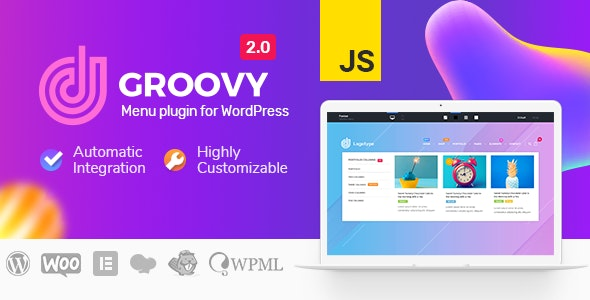 Groovy Mega Menu 2.4.2 Nulled - Menu Plugin for WordPress