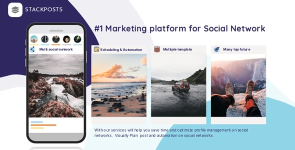 Stackposts 7.0.6 Nulled (+ Modules) - Social Marketing Tool