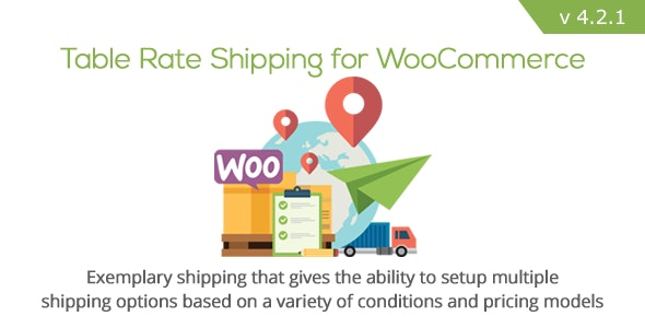 Table Rate Shipping for WooCommerce 4.2.1