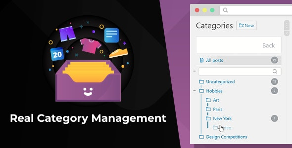 WordPress Real Category Management 3.5.4 Nulled