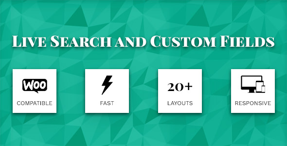 Live Search and Custom Fields 2.7.1 - WordPress Filter, Search & WooCommerce Product Filter