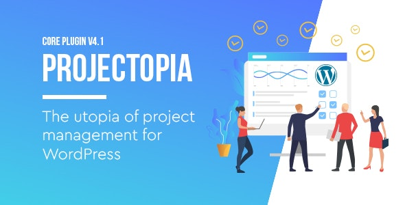Projectopia 4.3.10 - WordPress Project Management Plugin