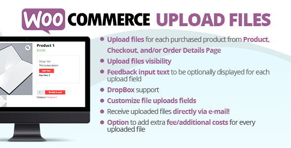WooCommerce Upload Files 57.7 Nulled
