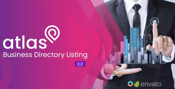 Atlas 2.2 Nulled - Business Directory Listing