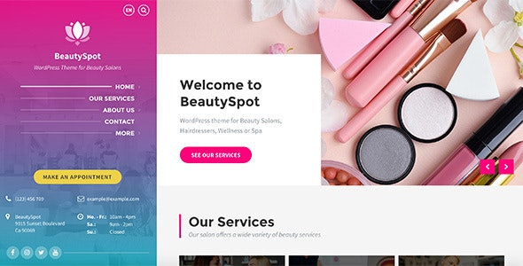 BeautySpot 3.4.4 - WordPress Theme for Beauty Salons