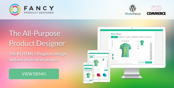 Fancy Product Designer 4.5.7 + Дополнение 1.3.2