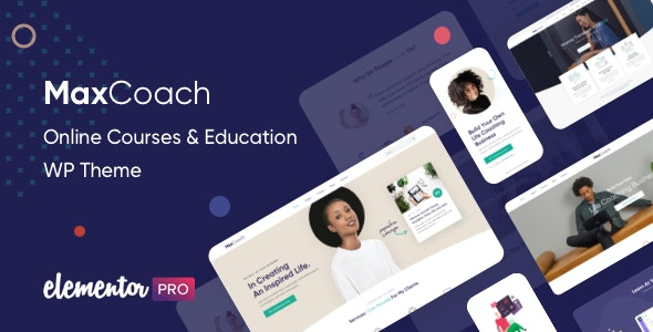 MaxCoach 2.0.4 - Online Courses & Education WP Theme