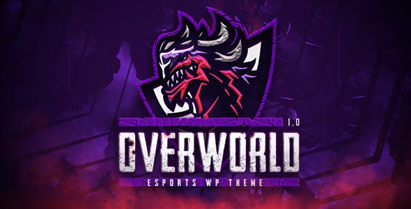Overworld 1.1 - eSports and Gaming Theme