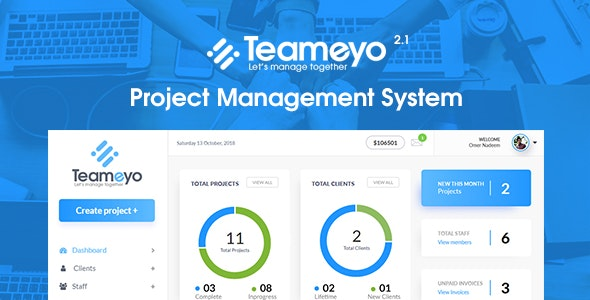 Teameyo 2.1 - Project Management System