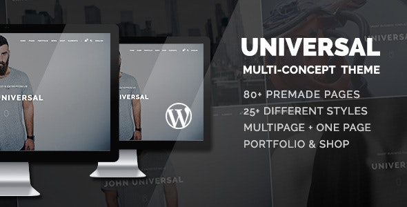 Universal 1.2.5 - Smart Multi-Purpose WordPress Theme