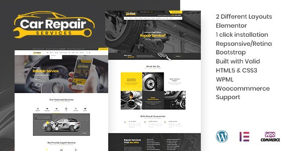 Car Repair Services 3.5 - Auto Mechanic WordPress Theme