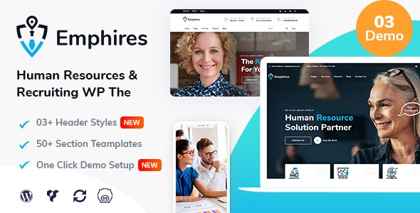 Emphires 2.1 - Human Resources & Recruiting Theme
