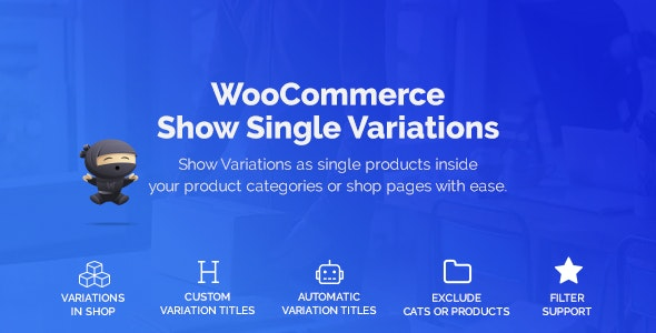 WooCommerce Show Variations as Single Products 1.2.2