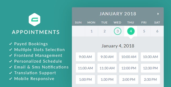 gAppointments 1.9.5.2 - Appointment booking addon for Gravity Forms