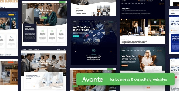 Avante 2.1.0 Nulled - Business Consulting WordPres Theme