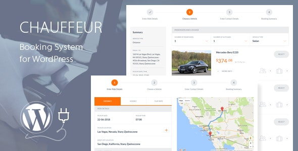 Chauffeur Booking System for WordPress 5.4