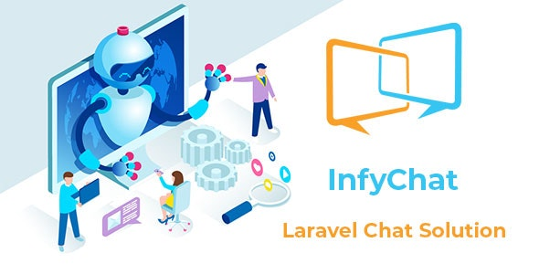 InfyChat 3.3.0 - Laravel Chat App (Private + Group Chat)