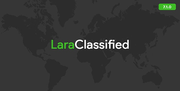 LaraClassified 8.0.1 Nulled - Classified Ads Web Application