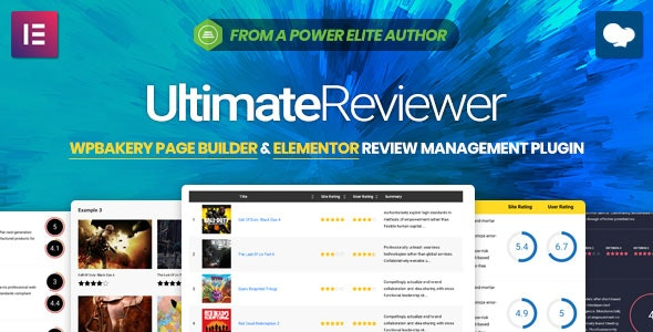 Ultimate Reviewer 2.8.1 - Elementor & WPBakery Page Builder Addon