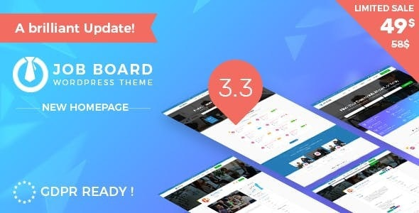 InJob 3.4.7 - Multi features for recruitment WordPress Theme