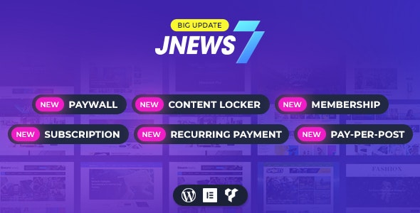 JNews 7.1.9 Nulled - WordPress Newspaper Magazine Blog AMP Theme