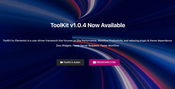 ToolKit For Elementor 1.0.4 Nulled
