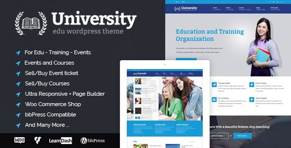 University 2.1.4.2 - Education, Event and Course Theme