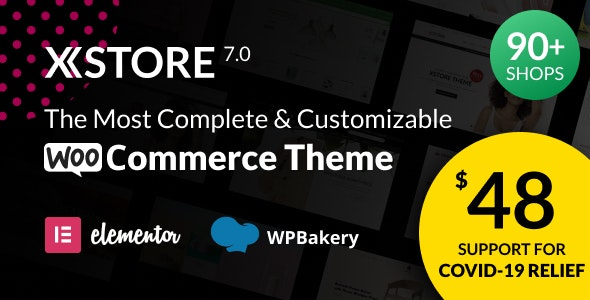 XStore 7.0.2 Nulled - Responsive Multi-Purpose WooCommerce WordPress Theme