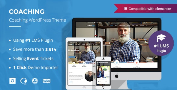 Colead 3.4.0 Nulled - Coaching & Online Courses WordPress Theme