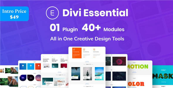 Divi Essential 2.3.0 - Divi Extension For Next Label Modules