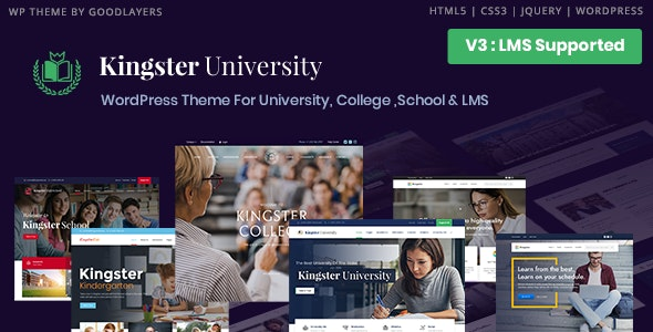 Kingster 3.0.3 - LMS Education For University, College and School