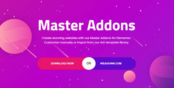 Master Addons for Elementor Pro 1.6.0 Nulled