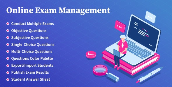 Online Exam Management 3.0 Nulled - Education & Results Management