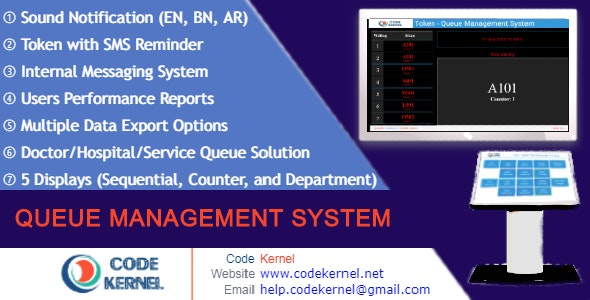 Queue Management System 4.0.0 Nulled