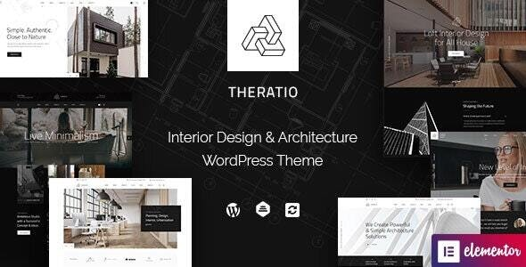 Theratio 1.1.3.1 - Architecture & Interior Design Elementor