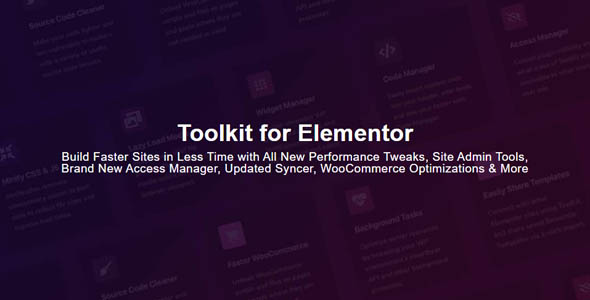 Toolkit for Elementor 1.2.2 - Addons for Elementor
